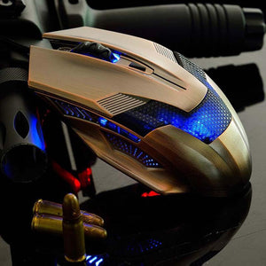 High Quality 6D Color LED Optical Adjustable Wired Gaming Mouse