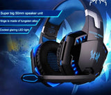 Ninja Dragons LED 3.5MM Stereo Gaming Headphone with Microphone