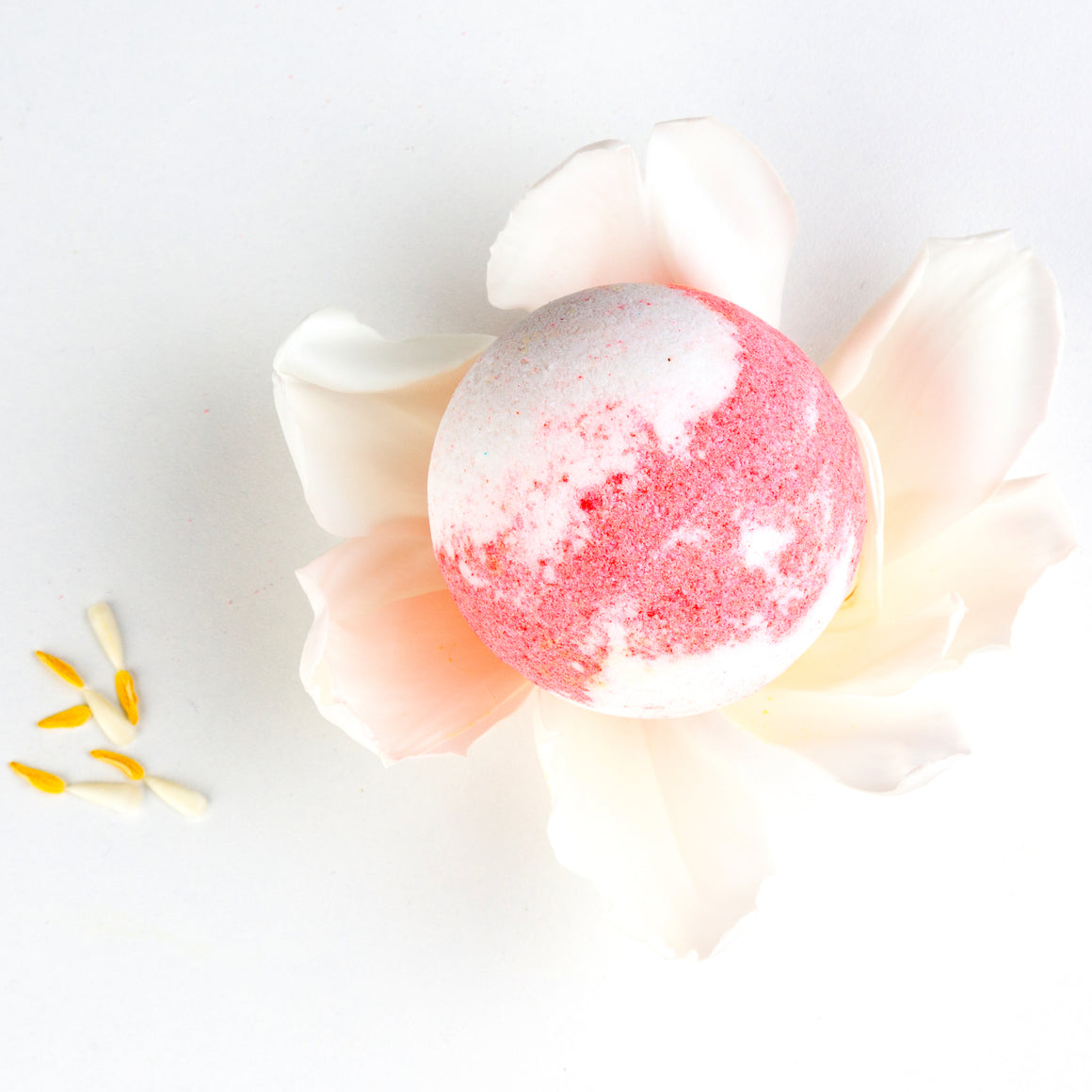 Bedtime Milk & Strawberries Baby Bath Bomb