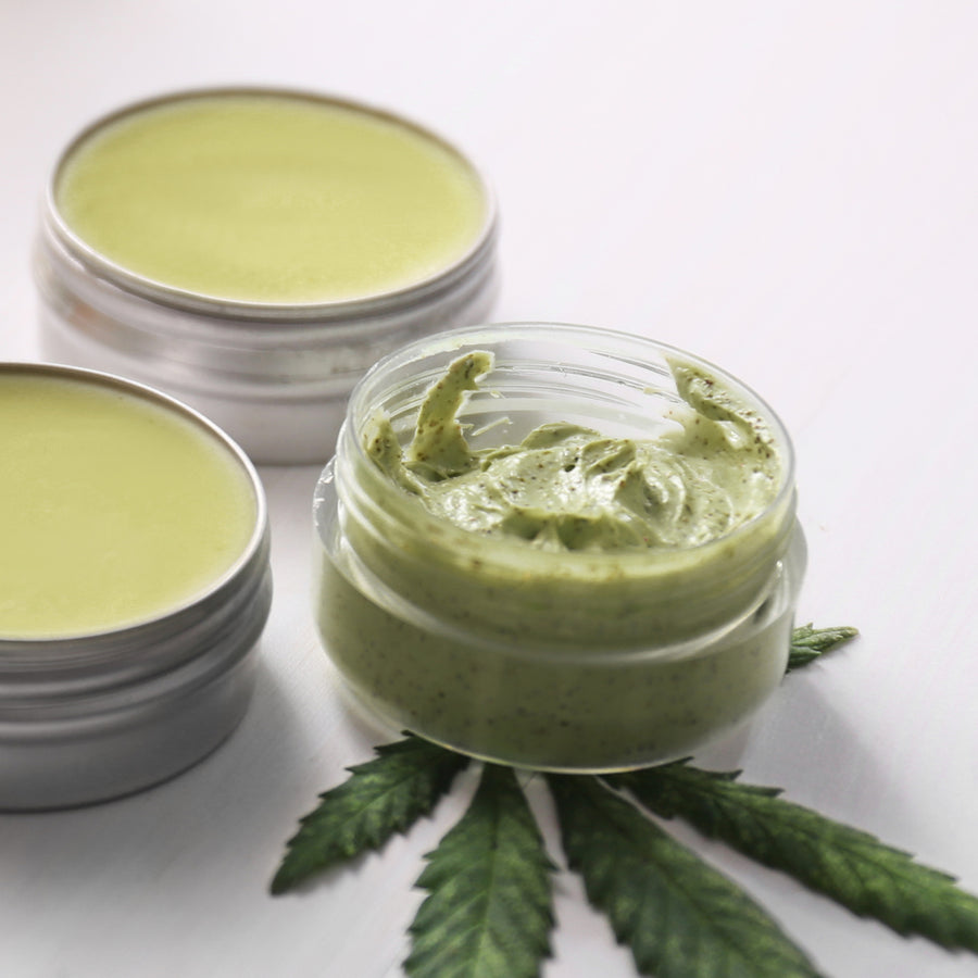 Hemp Seed Exfoliating Body Scrub