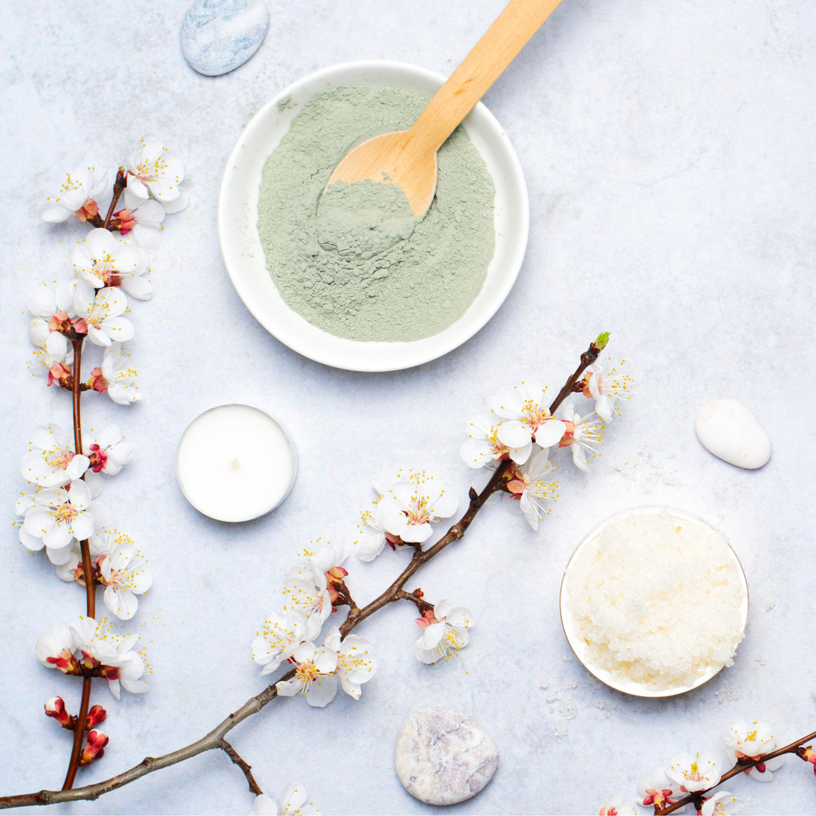 Asian Tea Blossom Sugar Scrub