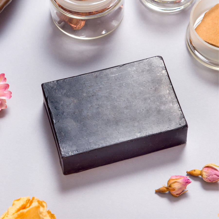 African Black Soap Bar (Raw and Organic)