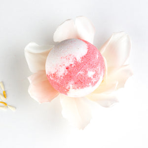 Strawberry Milkshake Bath Bomb