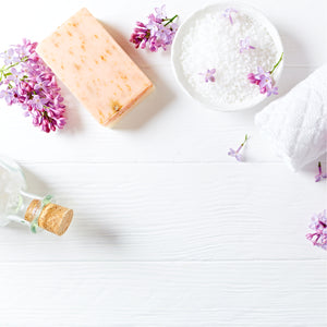 Lilac Bath Sea Salt