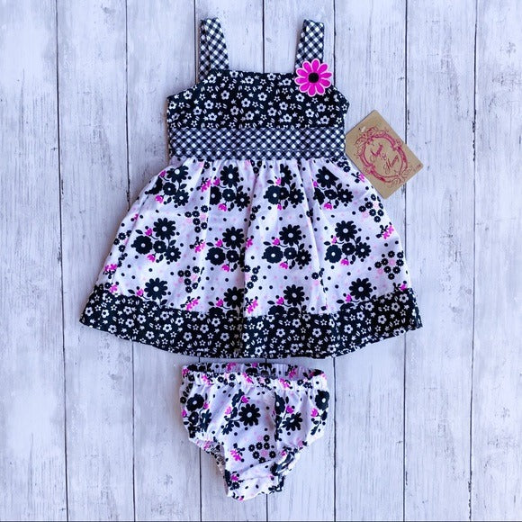 Sugah & Honey 2 Piece Floral Set- 6-9M