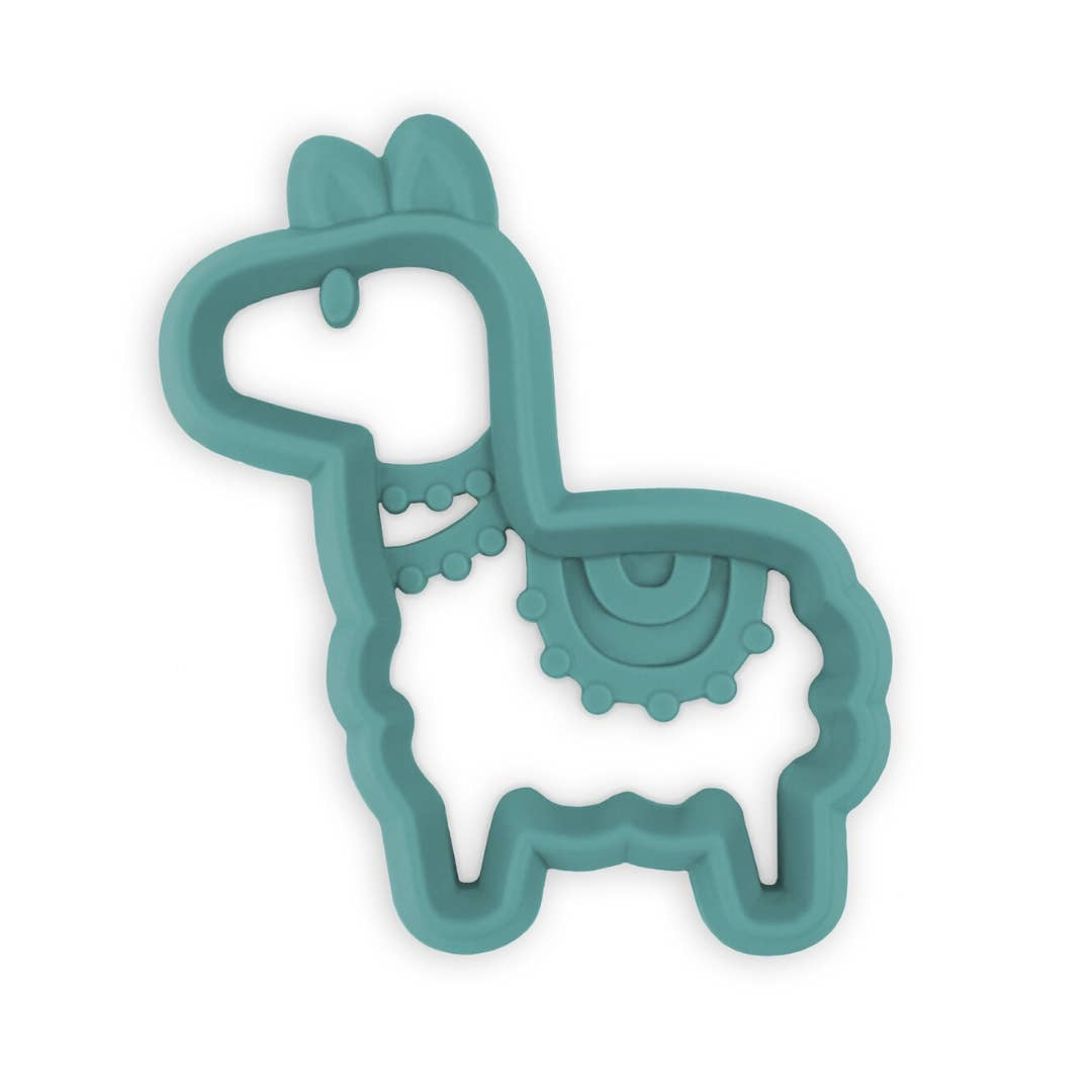 Llama Chew Crew™ Silicone Baby Teethers - Bluebonnet Beautique