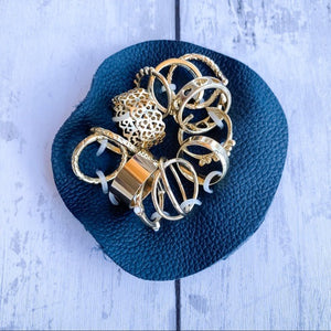 Free People 12 Piece Assorted Rings Gold