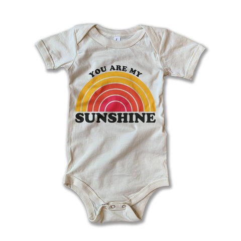 Rivet Apparel Co. You Are My Sunshine Tee Onsie
