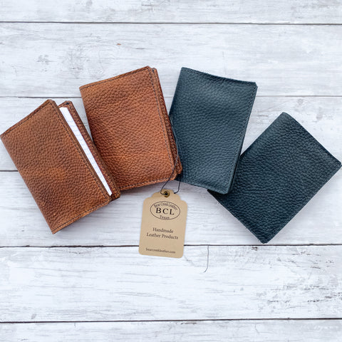 Bear Creek Leather Pocket Notebook