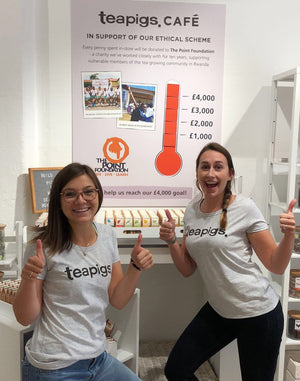 The teapigs pop-up shop: raising $6000 for Rwanda