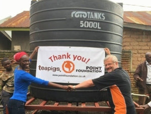 teapigs house update | four new water tanks