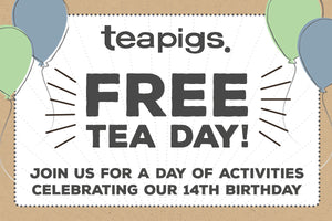 Join us for Free Tea Day 2020!