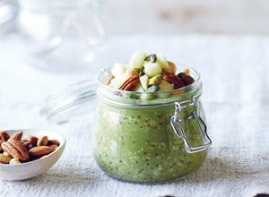 3 simple matcha breakfasts