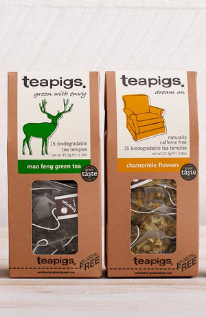 "First UK tea awarded ""plastic free trust mark"" 