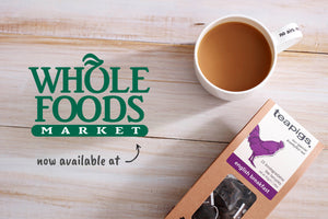 teapigs is now available at Whole Foods Market