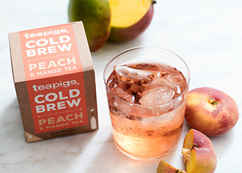 peach & mango cold brew
