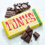 tony's chocolonely milk chocolate almond honey nougat