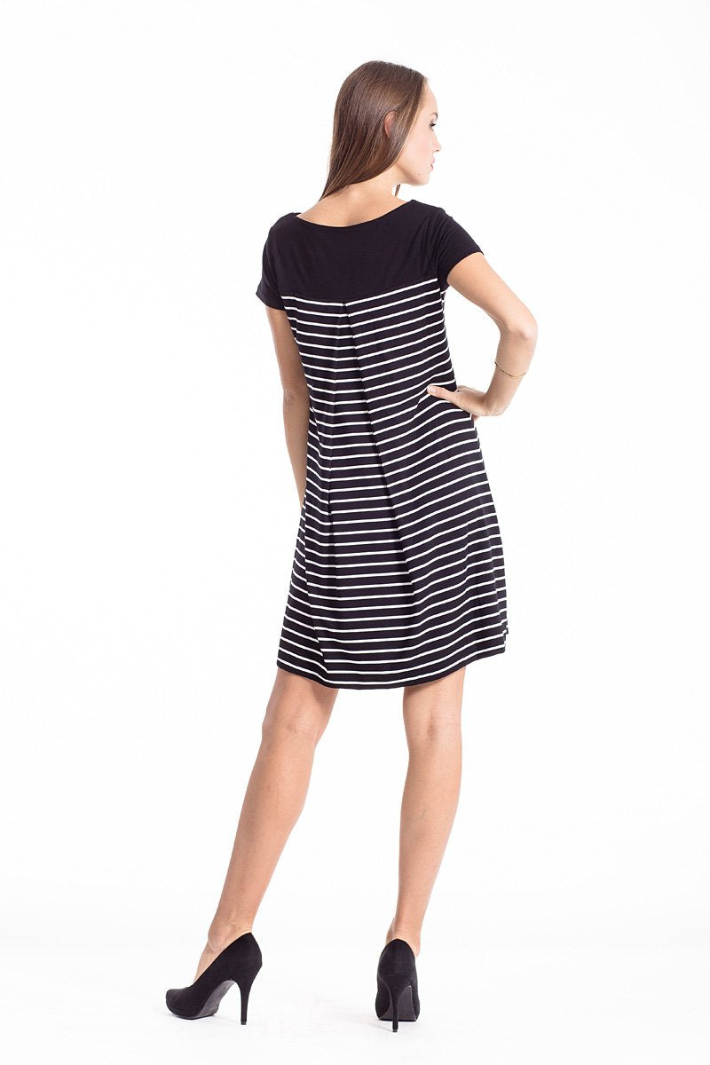 Striped a Line Dress