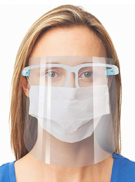 Clear Face Shield-Antifog