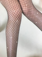 Happy Size- Sparkle fishnets