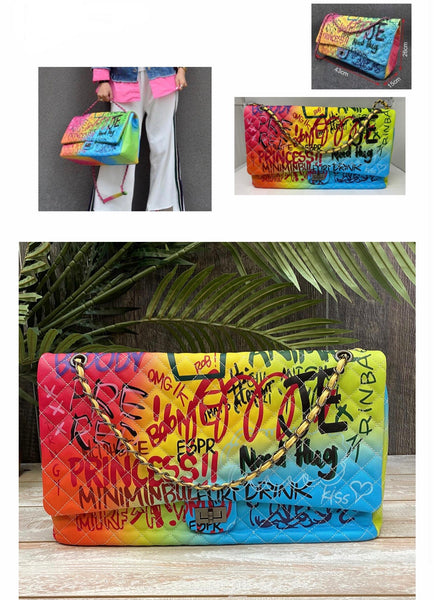 Large graffiti bag