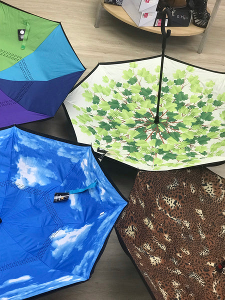 Reversible umbrella (Various print)