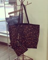 Reversible animal print set