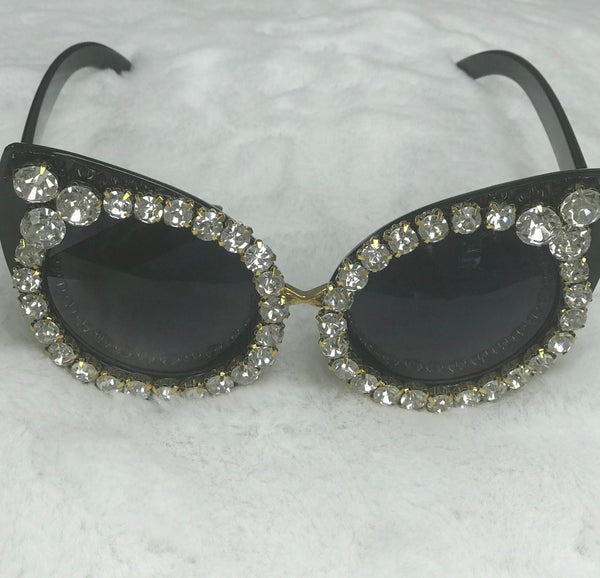 Bling bling cateye shades