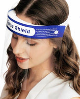 Blue band face shield