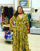 Yellow Safari maxi