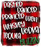 Dasher Dancer Blitzen