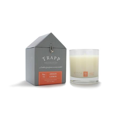 TRAPP 7oz. Poured Candle Amalfi Citron