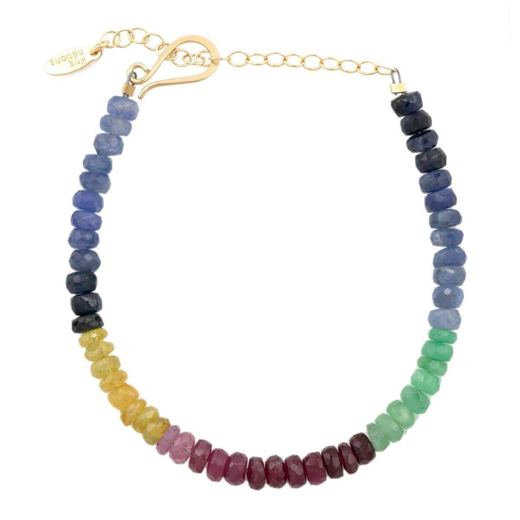 Kris Nations Color Block Beaded Bracelet