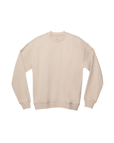 x karla The Unisex Crew Sweatshirt in Sand