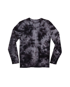 x karla The Raw Hem L/S in Black Cloud Wash