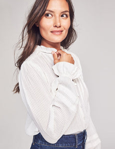 Faherty Willa Top in White
