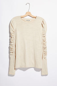 Free People Natasha Tee in Sand