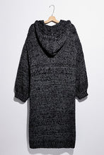 Load image into Gallery viewer, Free People Crofter Cardi in Carbon Dust Combo