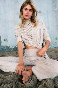 Free People Harper Set in Washed Muslin