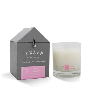 TRAPP 7oz. Poured Candle Pure Peony