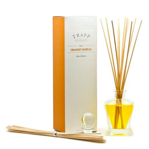 TRAPP 4.5oz Reed Diffuser Kit Orange Vanilla