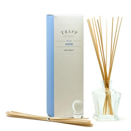 TRAPP 4.5oz Reed Diffuser Kit Water