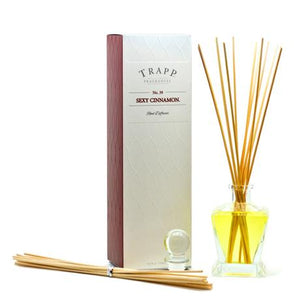 TRAPP 4.5oz Reed Diffuser Kit Sexy Cinnamon