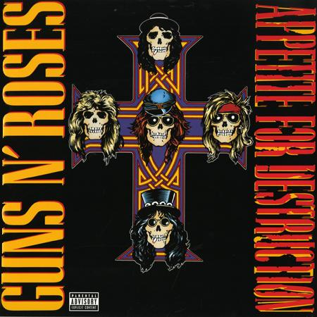 Vinyl - Appetite For Destruction - Guns n Roses