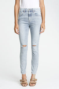 Pistola Audrey Mid Rise Skinny in Lush