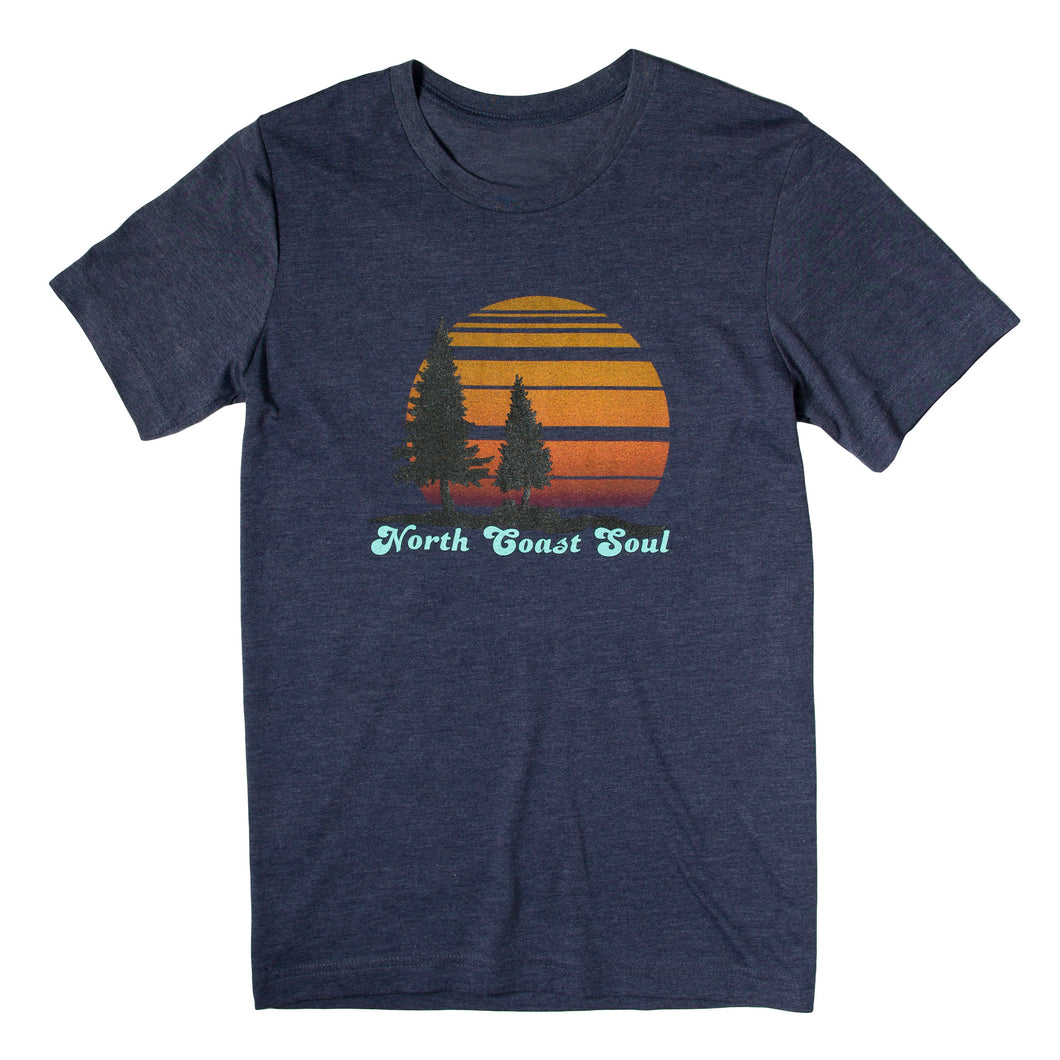 North Coast Soul Unisex T-shirt in Navy