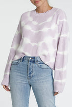 Load image into Gallery viewer, Pistola Eva Cropped Crewneck Pullover in Wisteria
