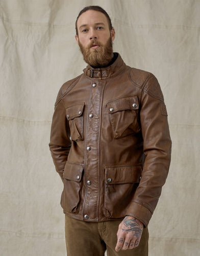 Belstaff Fieldbrook 2.0 Jacket in Walnut