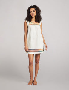 Faherty Hailee Dress in Mirage Stripe