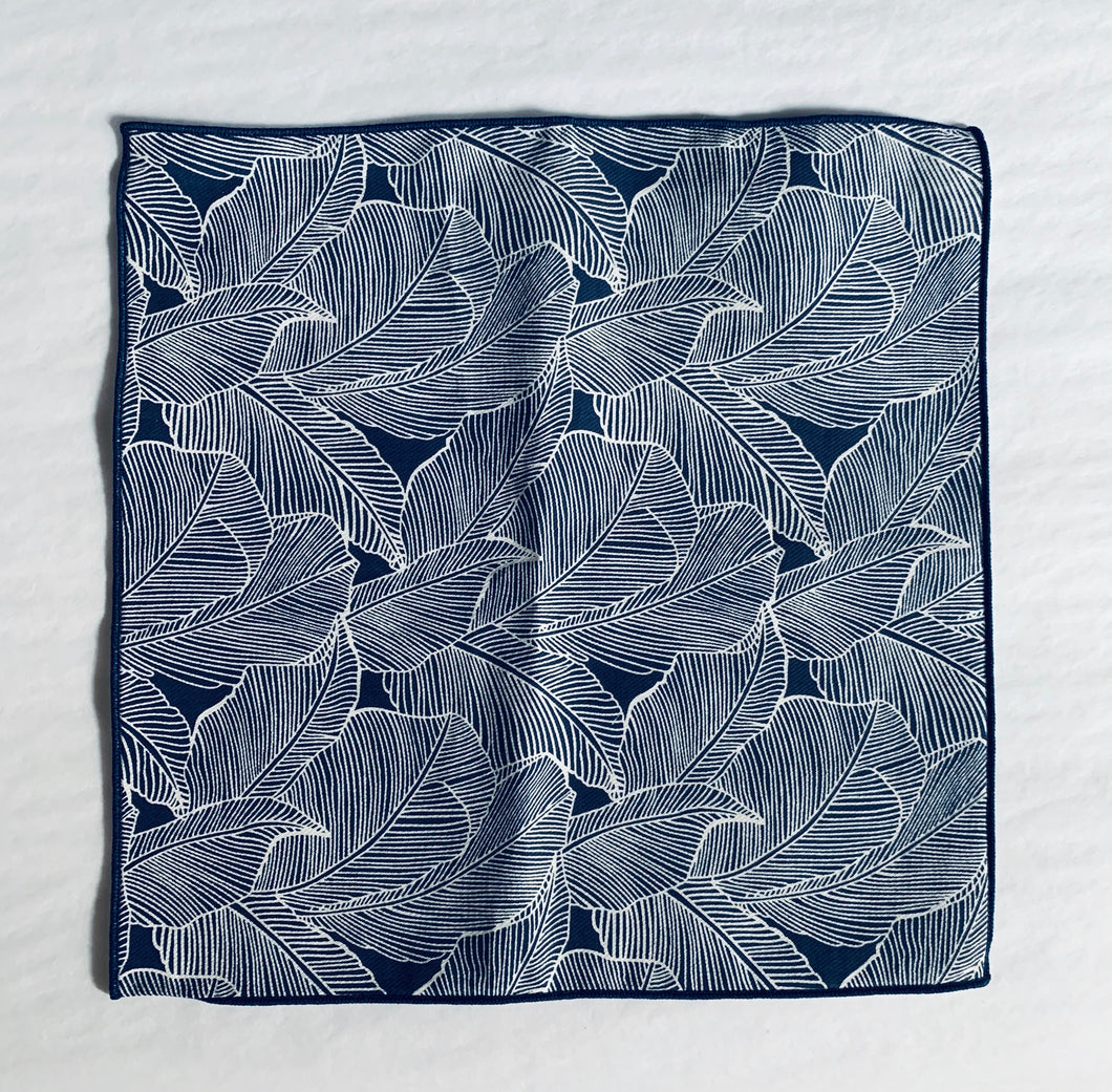 Curated Basics Palm Leaf Pocket Square